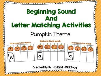Beginning Sounds and Alphabet Activities