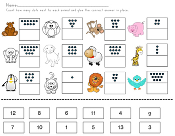 Beginning Sound and Math Practice