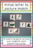 Beginning Sound to Picture Match Game