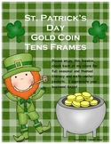 St. Patricks Day Tens Frame Counting
