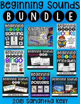 Beginning Sounds Activity Bundle