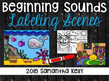 Beginning Sounds Labeling Station