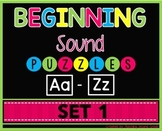 Beginning Sounds Set 1 Literacy Center