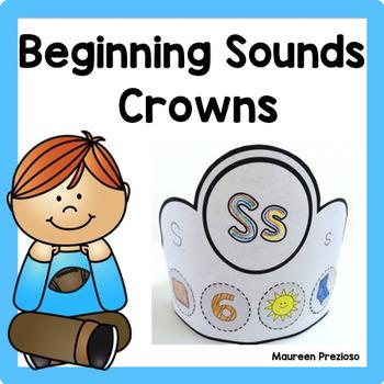 Beginning Sounds Crowns