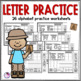 Alphabet Letters A to Z Beginning Sounds Printables