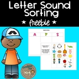Beginning Sound Literacy Center– Sorting Mats for Primary