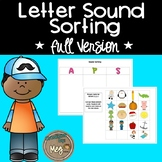 Beginning Sound Literacy Center– Sorting Mats for Primary Grades