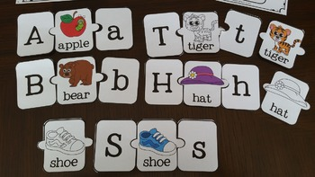 Beginning Sounds 3 pc. Puzzles