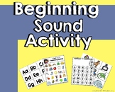 Initial Sound with Upper and Lower case letter Identification