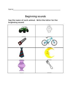 Beginning Sounds #4