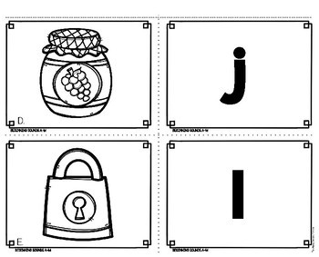 Beginning Sounds Centers | A - M Phonics Boxes
