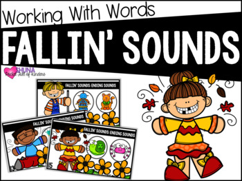 Ending Sounds {A Working With Words Center}