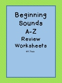 Beginning Sounds A-Z