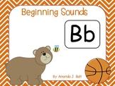 Beginning Sounds - A-Z; Alphabet; Special Education; Kindergarten; Autism