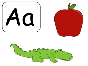 Beginning Sounds - A-Z; Alphabet; Special Education; Kindergarten; Autism