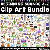 Beginning Sounds A-Z Clip Art Pack