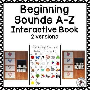 Beginning Sounds A-Z Interactive Book