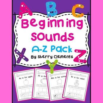 Beginning Sounds: A-Z Pack