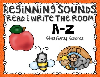 Beginning Sounds A-Z Read and Write the Room Center