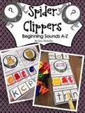Beginning Sounds A-Z {Spider Clippers & An Interactive Activity}
