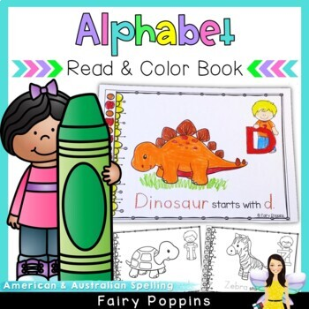 Beginning Sounds - A to Z Coloring Book (Includes Australi