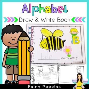 Beginning Sounds - A to Z Drawing Book