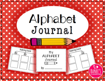 Beginning Sounds ABC Journal- Tree Map and Circle Map Bundle