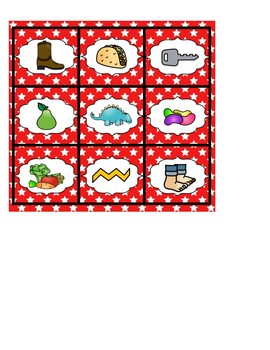 Beginning Sounds ABC Picture Match