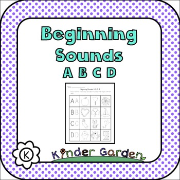 Beginning Sounds: ABCD