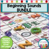 Beginning Sounds centers Bundle