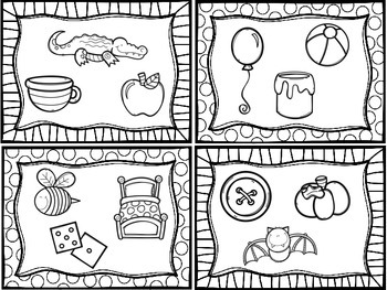 Beginning Sounds Activity Cards