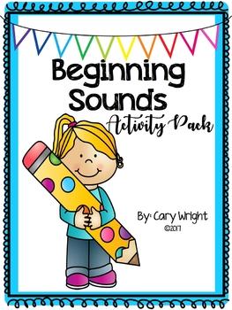 Beginning Sounds Activity Pack