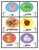 Beginning Sounds Activity with The Dot by Peter H. Reynolds