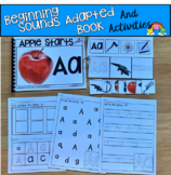 Beginning Sounds Adapted Book And Activities (Letter A)