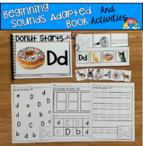 Beginning Sounds Adapted Book And Activities (Letter D)