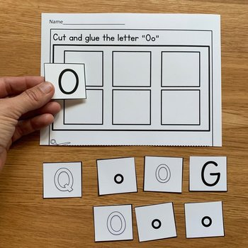 Beginning Sounds Adapted Book And Activities (Starts With O)