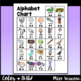 Alphabet Charts, Color & B&W, A Reference Tool for Reading & Writing