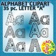 Beginning Sounds Alphabet Clip Art Set Commercial and Personal Use