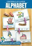 Beginning Sounds / Alphabet Clip Cards