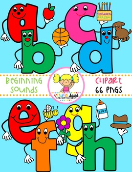 Beginning Sounds {Alphabet Clipart}