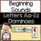 Beginning Sounds: Alphabet Dominoes