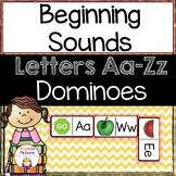 Beginning Sounds: Alphabet Dominoes