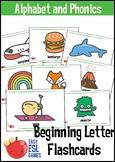 Beginning Sounds Alphabet Flash Cards