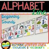 Beginning Sounds Alphabet Line