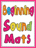 Beginning Sounds Alphabet Magnetic Letter Mats