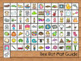 Beginning Sounds Alphabet Bee Bot Mat and Flash Cards Colored & B/W