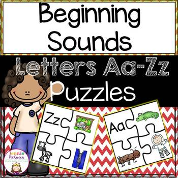 Beginning Sounds: Alphabet Puzzles