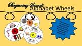 Beginning Sounds Alphabet Wheels