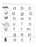 Beginning Sounds Assessment or Practice Pages