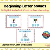 Beginning Sounds Audio Boom Cards - Digital Task Cards